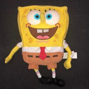 Spongebob sings when squeezes hand